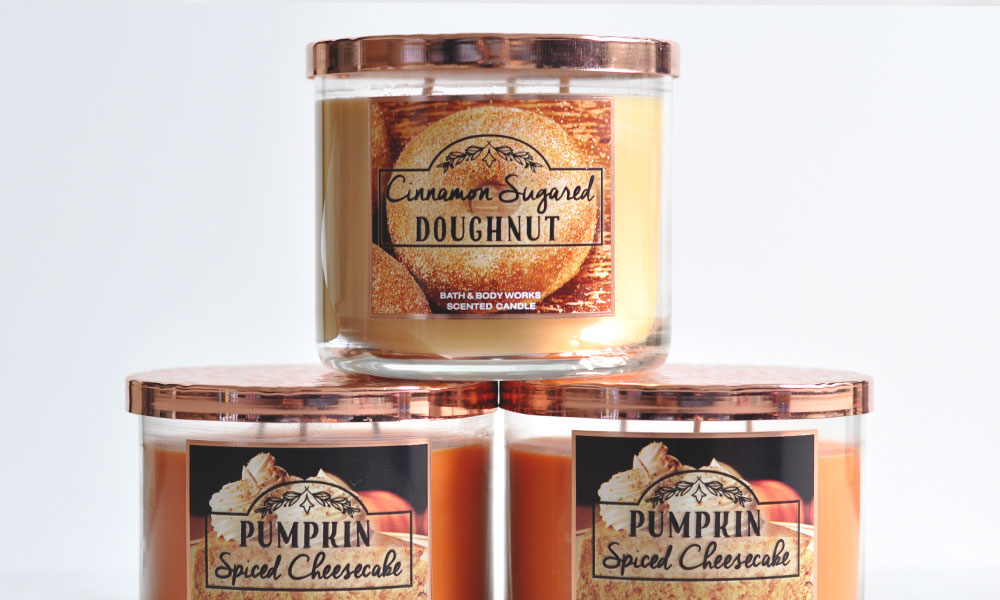 BBW Fall Preview 2016 Candle Haul