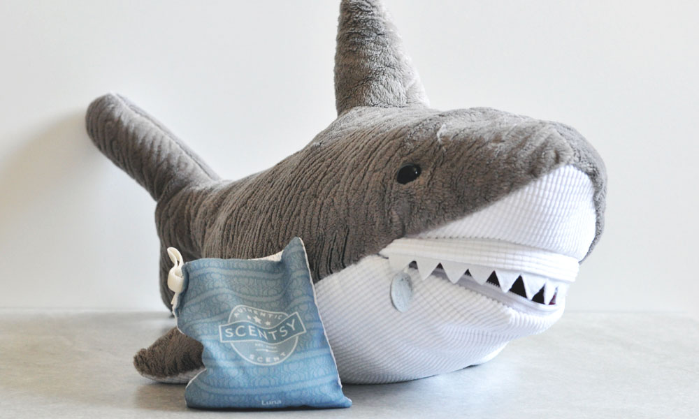 First Scentsy Score - Steve the Shark - Scentsy Buddy