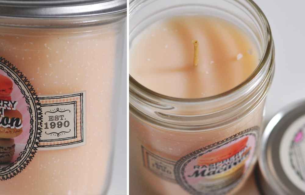 Raspberry Peach Macaron - Bath & Body Works Retired Candle