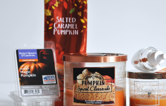 October 2017 Candle Empties