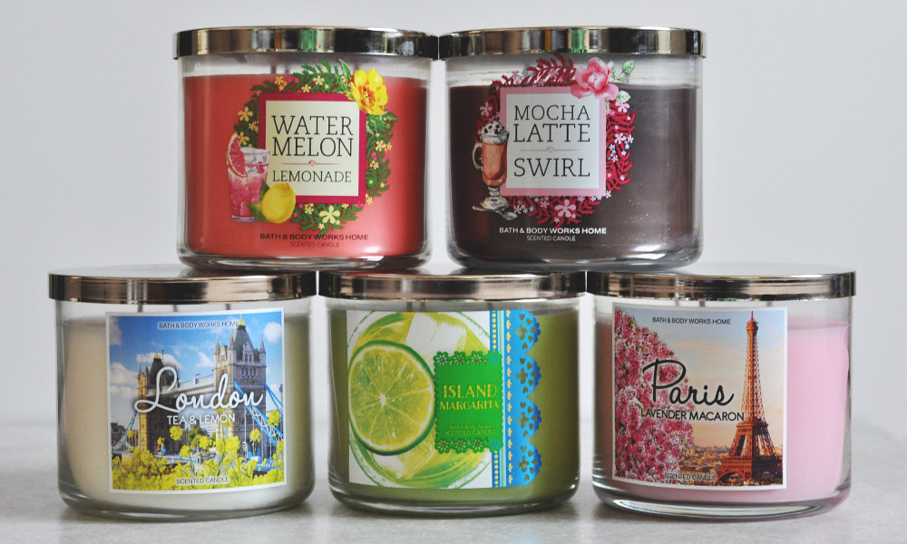 Bath & Body Works $11 Candle Haul