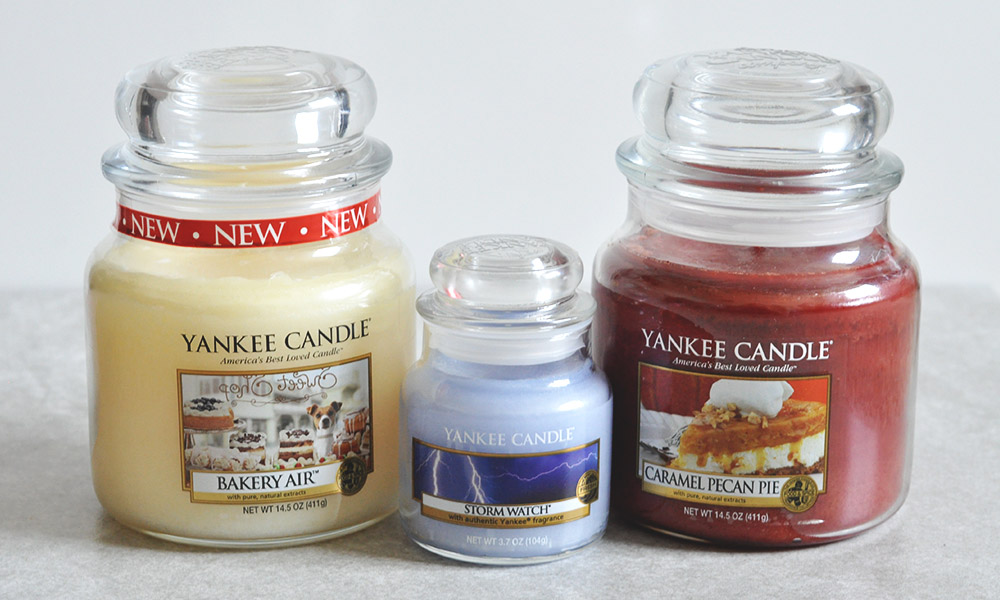 First Ever Yankee Candle Glitch Haul