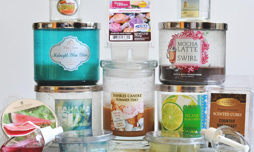 June 2016 Candle Empties