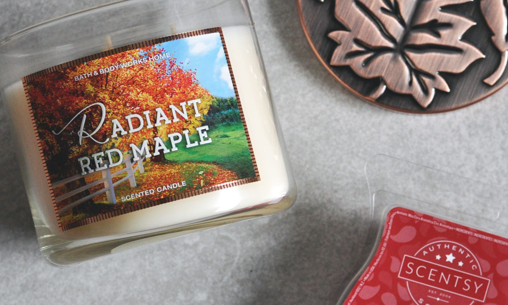 BBW Radiant Red Maple Dupe