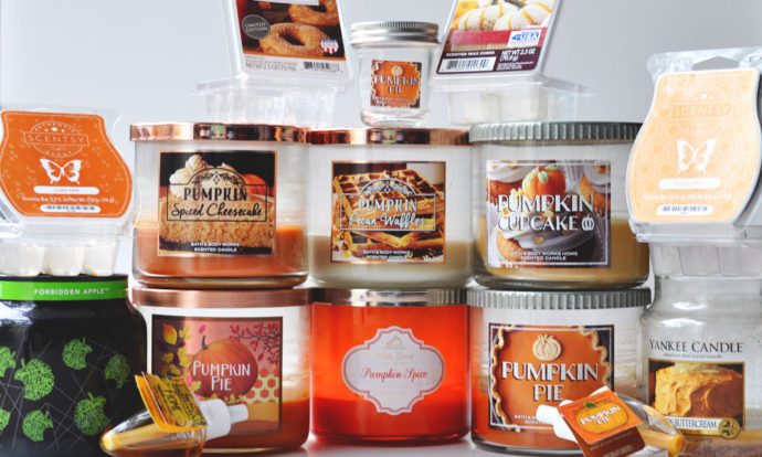 October 2016 Candle Empties
